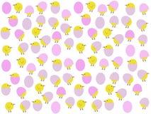 Polluelos de pascua de la historieta