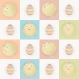 Polluelos del bebé de Pascua Fotografía de archivo libre de regalías