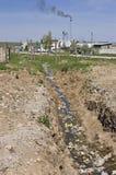 polluted вонял Стоковая Фотография RF