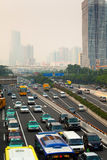 Polluted City Royalty Free Stock Images