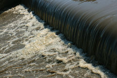 Polluted water Royalty Free Stock Photography