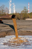 Polluted Water Stock Photography