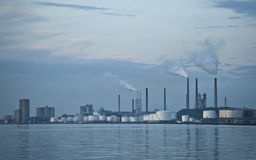 polluting индустрии Стоковое Фото