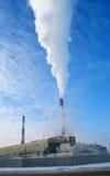 polluting фабрики Стоковое Фото