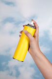 Polluting the air Royalty Free Stock Images