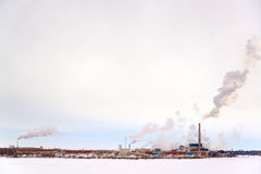 Polluting Factory Stock Images