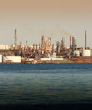 Polluting the waters Stock Photos