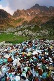 Pollutiom de montagne photo stock