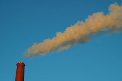 Pollution 2 stock photo