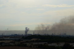 pollution Photographie stock