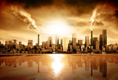 Pollution photo stock