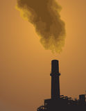 Pollution stock image