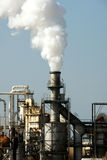 Pollution. Industrial Smoke Pollution - Global Warming Royalty Free Stock Image
