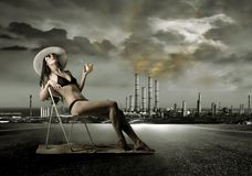 Pollution Royalty Free Stock Photos