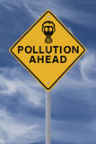 Pollution Ahead Royalty Free Stock Photography