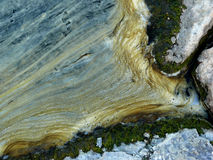 Pollution along the Mississippi river stock images