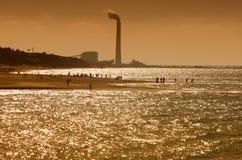 Pollution atmosphérique image stock
