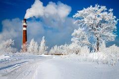 Pollution atmosphérique Photos libres de droits
