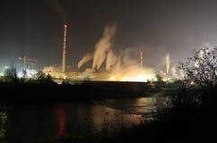 Pollution atmosphérique photographie stock