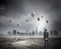 Pollution atmosphérique Images libres de droits