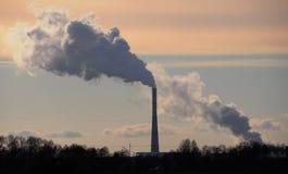 Pollution atmosphérique Photographie stock libre de droits
