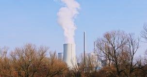 Pollution atmosphérique de danger banque de vidéos