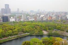 Pollution atmosphérique le Japon - à Osaka Photo stock