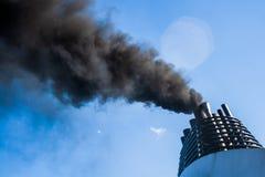 Pollution atmosph?rique photographie stock libre de droits