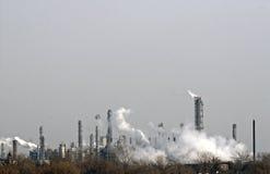 Pollution atmosphérique. Photographie stock libre de droits