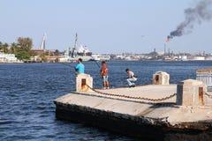 Pollution au Cuba Images libres de droits