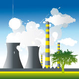 Pollution_Concept Royalty Free Stock Photos