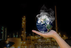 Pollution Royalty Free Stock Photos