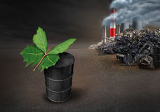 Pollution Conservation Hope Concept Stock Photography