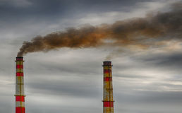 Pollution In Cuba Royalty Free Stock Images