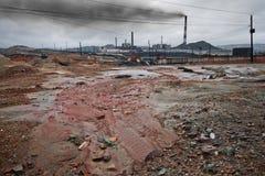 Pollution d'écologie image libre de droits