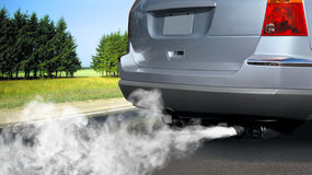 Pollution d'environnement Images stock