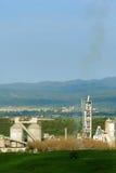 Pollution d'usine de la colle Photos libres de droits