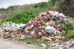 Pollution de nature Photographie stock libre de droits