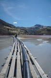 Pollution de nature Photo stock