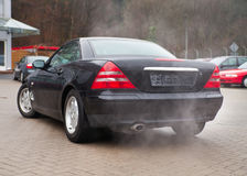 Pollution de véhicule et atmosphérique Photos libres de droits