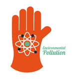 Pollution design Royalty Free Stock Image