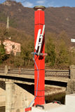 Pollution detection control unit Stock Photo