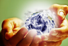 Pollution earth Stock Images