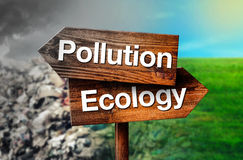Pollution or Ecology Concept Royalty Free Stock Photo