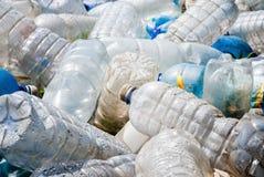 Pollution en plastique Images stock