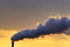 Pollution ensoleillée Images libres de droits