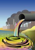 pollution environnementale écologique de photo de crise Photographie stock