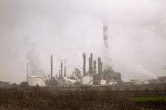 Pollution environnementale Photos libres de droits