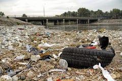 Pollution environnementale Photographie stock libre de droits