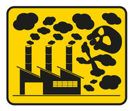 Pollution icon Royalty Free Stock Photography